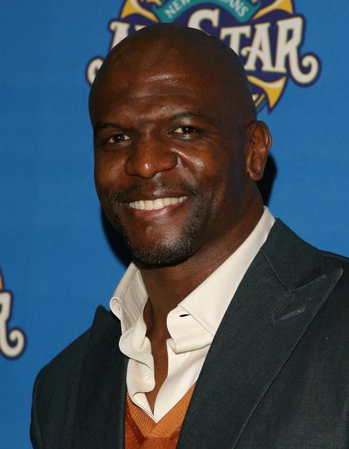 Terry Crews at the 57th NBA All-Star Game during the 2008 NBA All-Star Weekend.