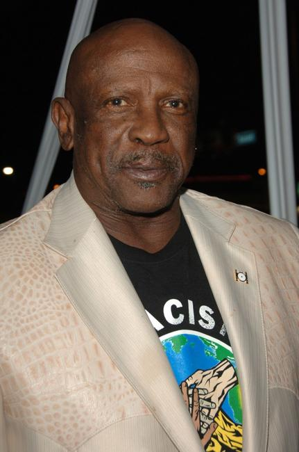 Louis Gossett, Jr. at the premiere of