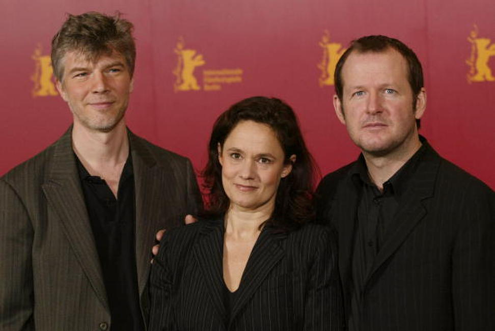 Jakob Eklund, Pernilla August and director Bjorn Runge at the 54th Annual Berlin International Film Festival.