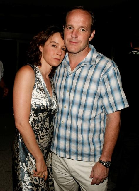 Jennifer Grey and Clark Gregg at the 2008 CineVegas Film Festival.