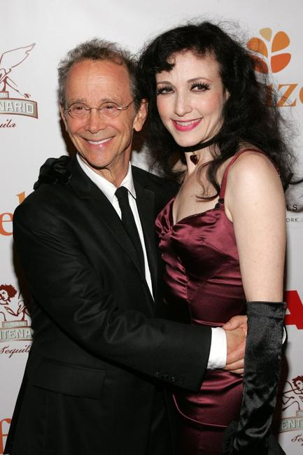Joel Grey and Bebe Neuwirth at the after party for the 10th Anniversary of Broadway's Chicago.