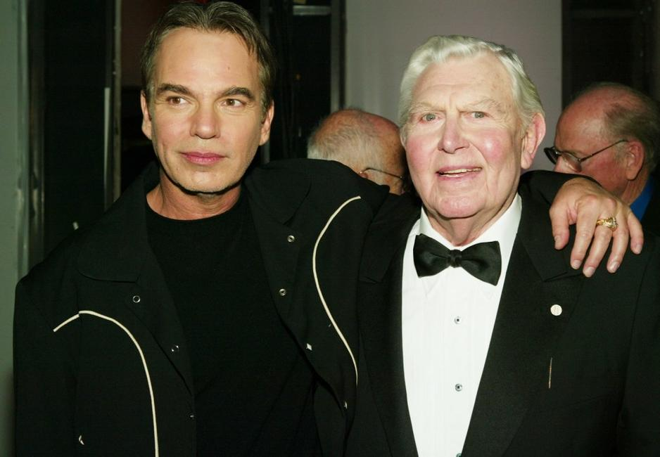 Billy Bob Thornton and Andy Griffith at the 2nd Annual TV Land Awards.