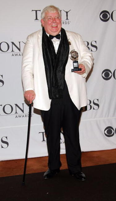 Richard Griffiths at the 60th Annual Tony Awards at Radio City Music Hall.