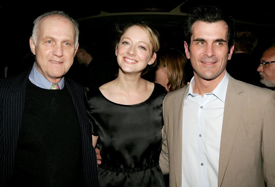 Lawrence Pressman, Judy Greer and Ty Burrell at the opening night after party of