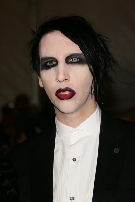 Marilyn Manson at the Metropolitan Museum of Art Costume Institute Benefit Gala: Anglomania.