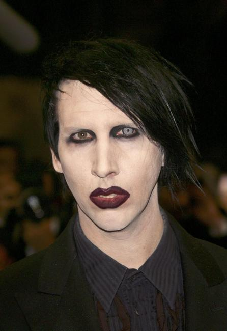 Marilyn Manson at the premiere of