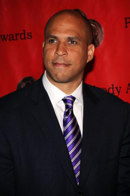 Cory Booker at the 69th Annual Peabody Awards.