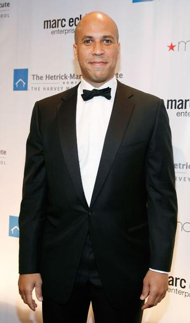 Cory Booker at the 2008 Emery Awards.
