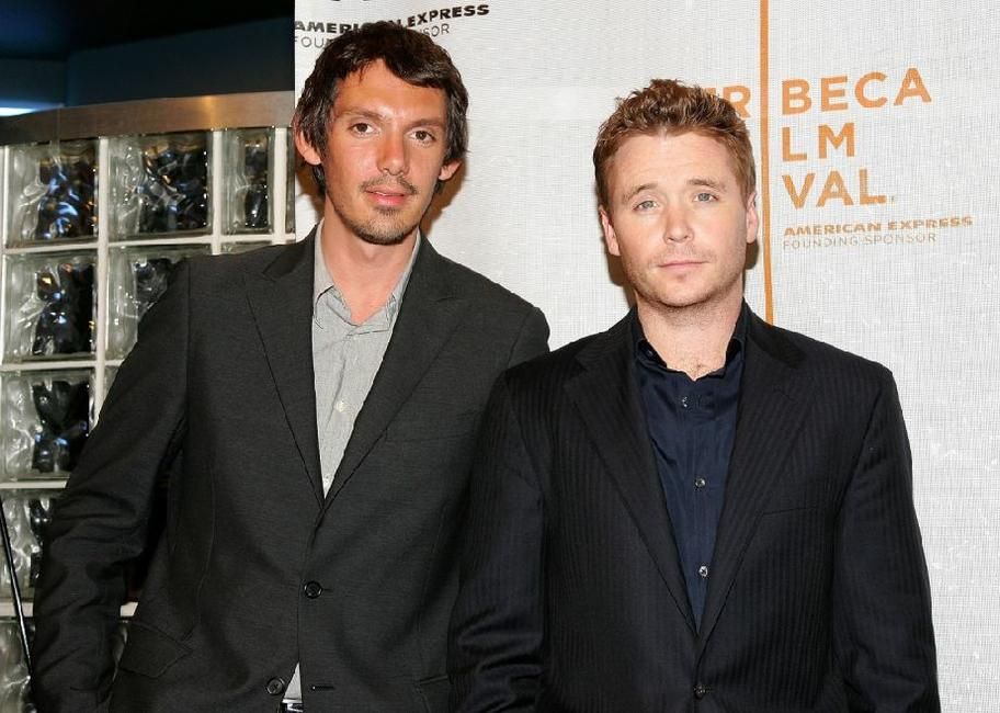 Lukas Haas and Kevin Connolly at the press conference for the film