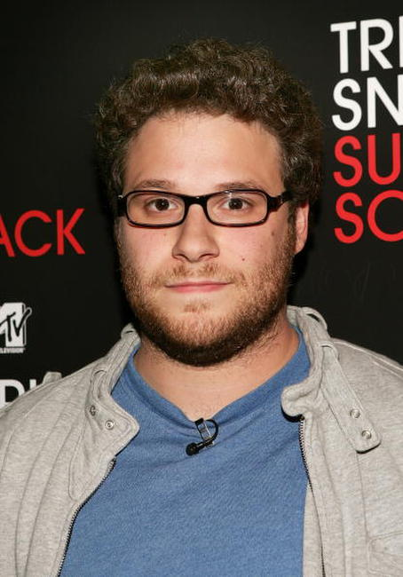 Seth Rogen at MTV's Total Request Live in N.Y.