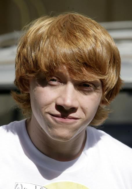 Rupert Grint at the photocall of