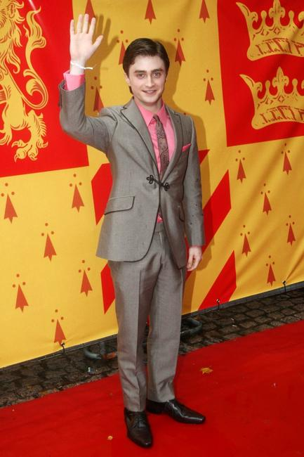 Daniel Radcliffe at the London premiere of