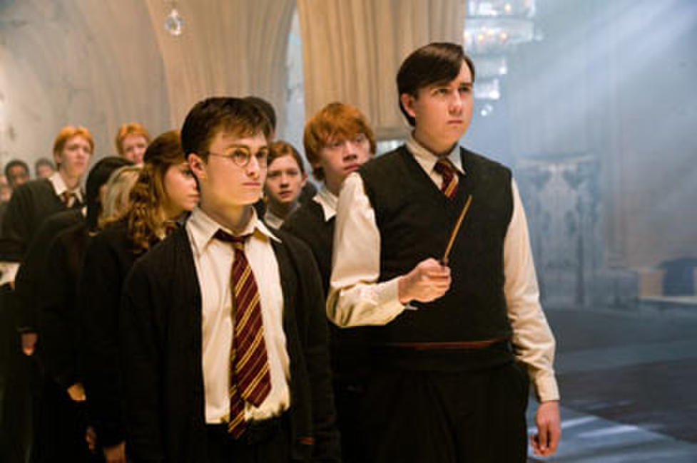 Daniel Radcliffe and Matthew Lewis in