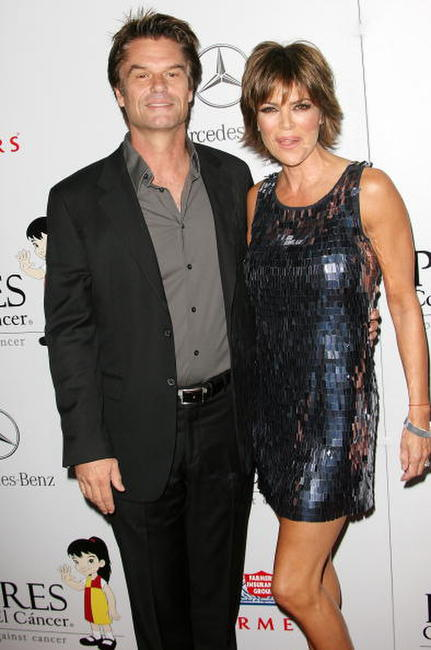 Harry Hamlin and Lisa Rinna at the 7th Annual El Sueno De Esperanza Gala.