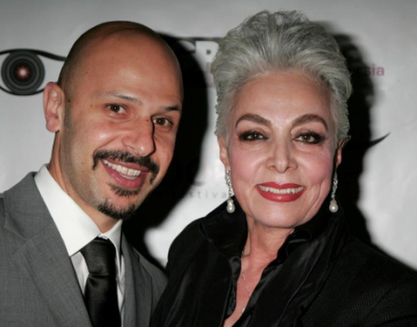 Maz Jobrani and Hoori Sadler at the 2nd annual Noor Film Festival opening night gala.