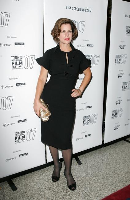 Marcia Gay Harden at the Toronto International Film Festival 2007, arrives at the world premiere of