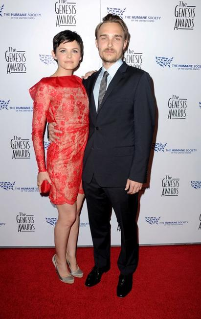 Ginnifer Goodwin and Joey Kern at the 24th Genesis Awards.