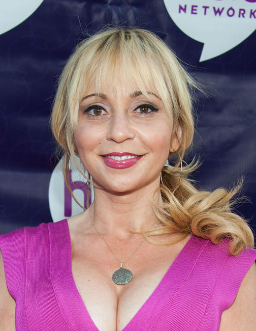 Tara Strong at the Hub Network's