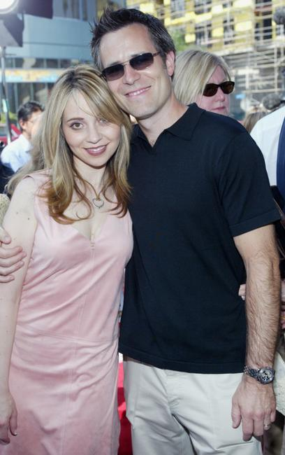 Tara Strong and her guest at the premiere of