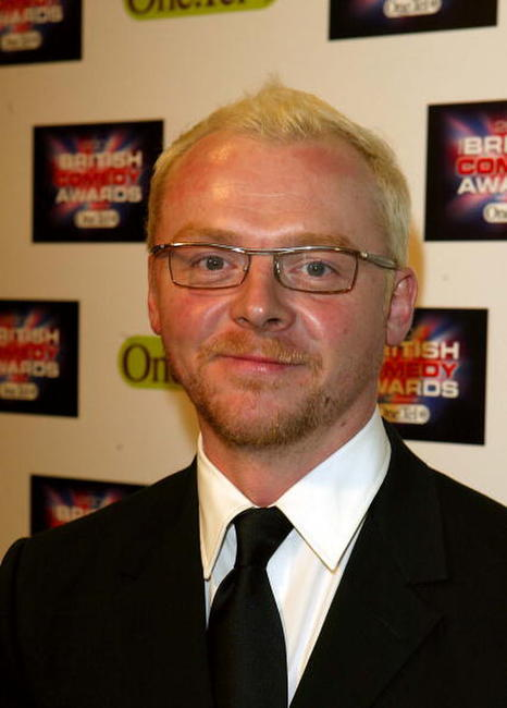 Simon Pegg at the 'British Comedy Awards 2004' in London.
