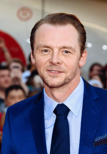 Simon Pegg at the New York premiere of