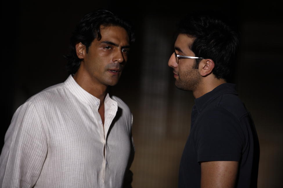 Arjun Rampal and Ranbir Kapoor in