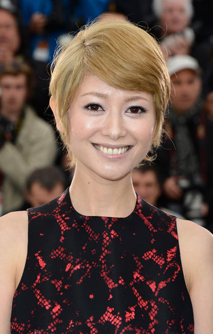 Yoko Maki at the photocall of