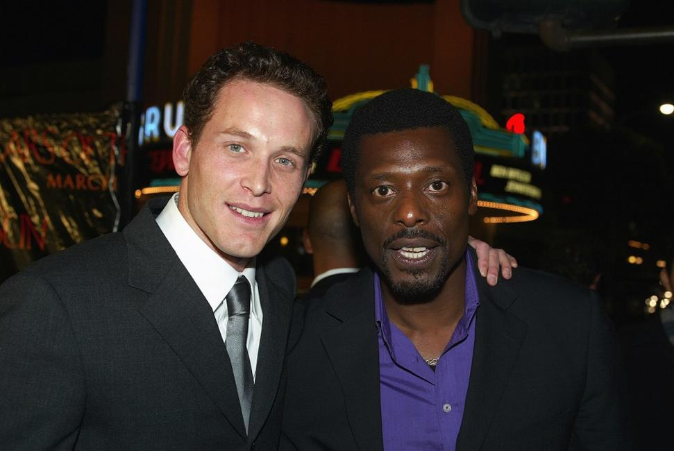 Cole Hauser and Eamonn Walker at the premiere of