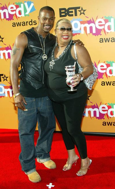 Darrin Henson and Luenell Campbell at the 2005 BET Comedy Icon Awards.
