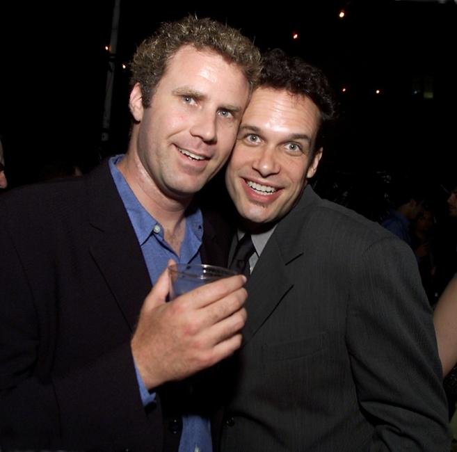 Will Ferrell and Diedrich Bader at the post-premiere party of