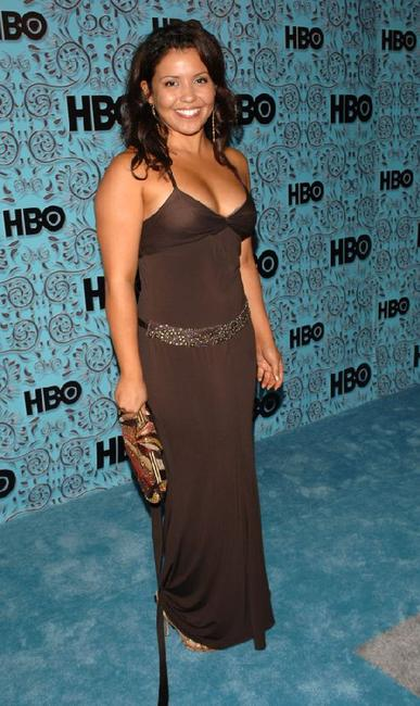 Justina Machado at the HBO Emmy after party.