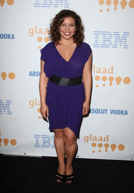 Justina Machado at the 20th Annual GLAAD Media Awards.