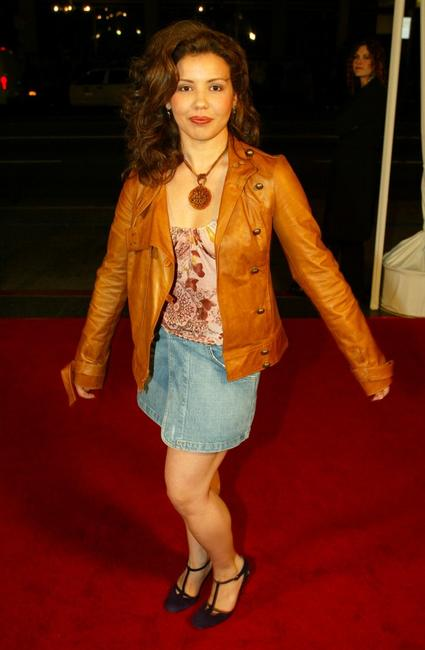 Justina Machado at the premiere of