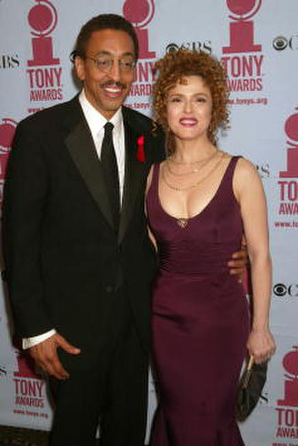 Gregory Hines and Bernadette Peters at the 56th Annual Tony Awards.