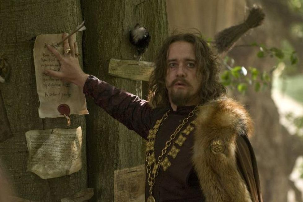 Matthew Macfadyen as Sheriff of Nottingham in