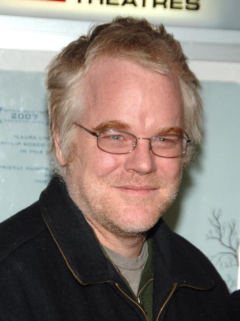 Actor Philip Seymour Hoffman at the N.Y. premiere of