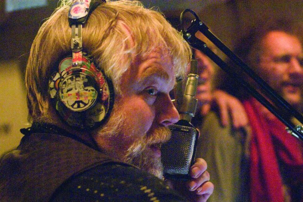 Philip Seymour Hoffman as big, brash American DJ The Count in