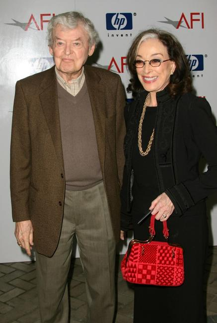 Hal Holbrook and his wife actress Dixie Carter at the 8th Annual AFI Awards held at the Four Seasons Hotel.