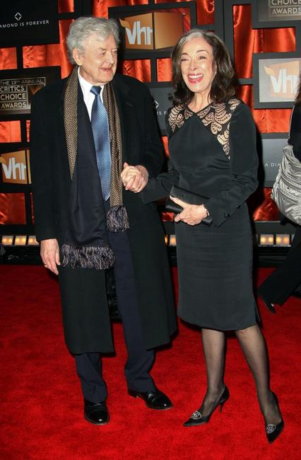 Hal Holbrook and Dixie Carter at the 13th annual Critics' Choice Awards.