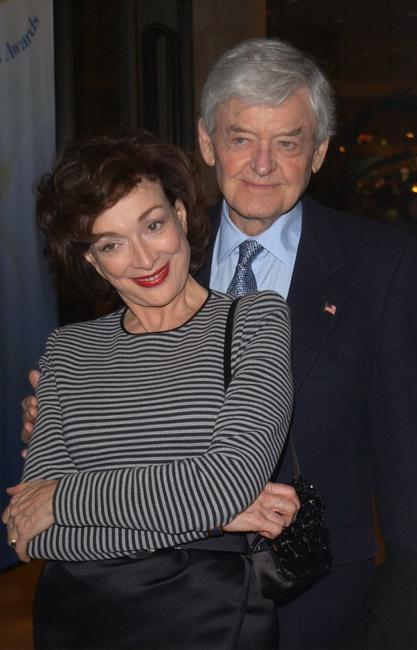 Hal Holbrook and his wife Dixie Carter at the 54th Annual Writers Guild of America Awards.