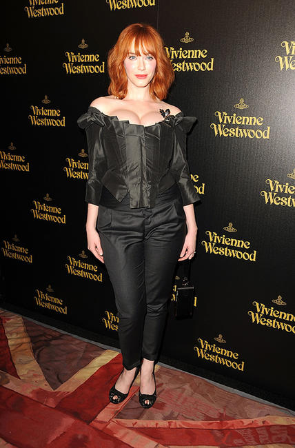 Christina Hendricks at the Store Opening party of Vivienne Westwood