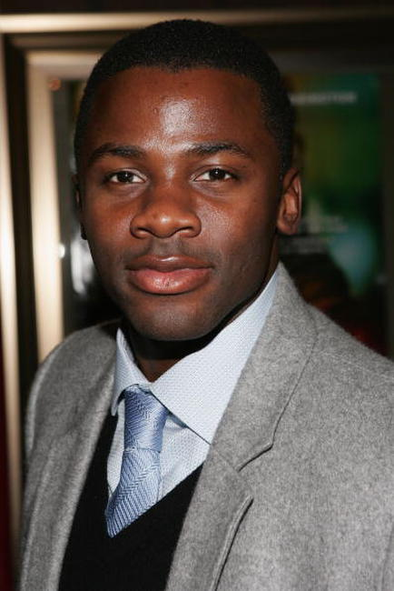 Derek Luke at the N.Y. premiere of