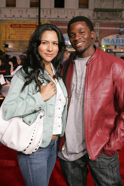 Derek Luke and his wife Cynthia Luke at the Paramount Pictures fan screening of