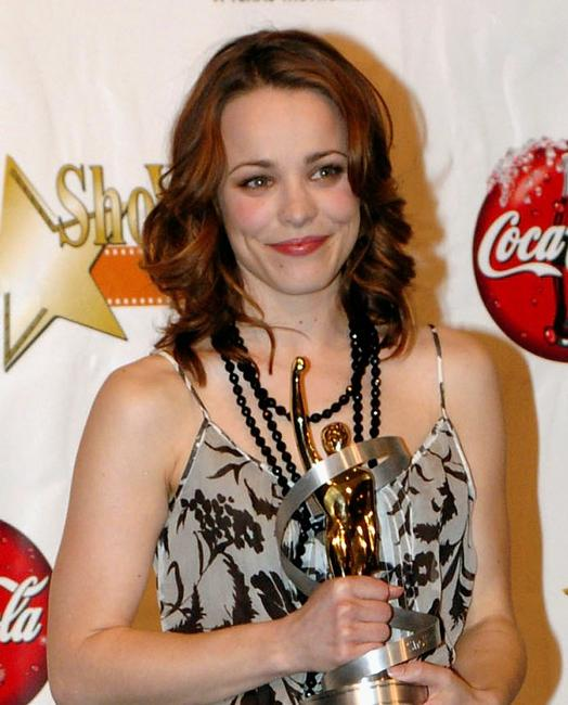 Rachel McAdams at the ShoWest Award Ceremony.