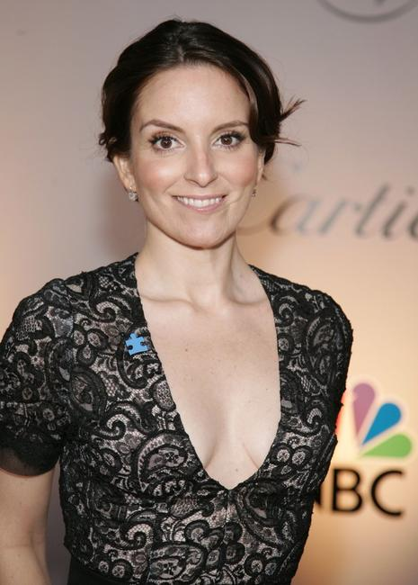 Tina Fey at the NBC/Universal Golden Globe After Party.