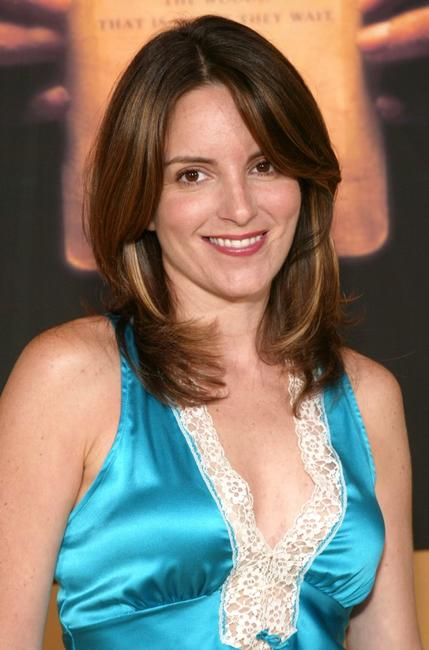 Tina Fey at the premiere of