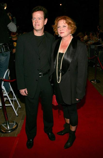 Dylan Baker and Becky Ann Baker at the premiere of
