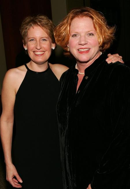 Liz Callaway and Becky Ann Baker at the Roundabout Theatre Company's Spring Gala 2006.