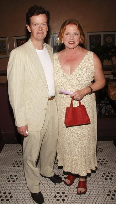 Dylan Baker and Becky Ann Baker at the opening night celebration of