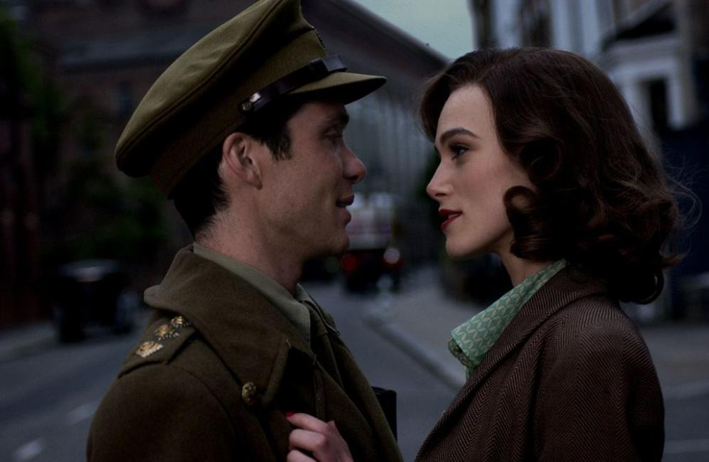 Keira Knightley and Cillian Murphy in